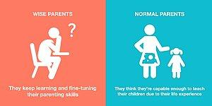 8 Illustrations Giving Impressive And Smart Parenting Tips