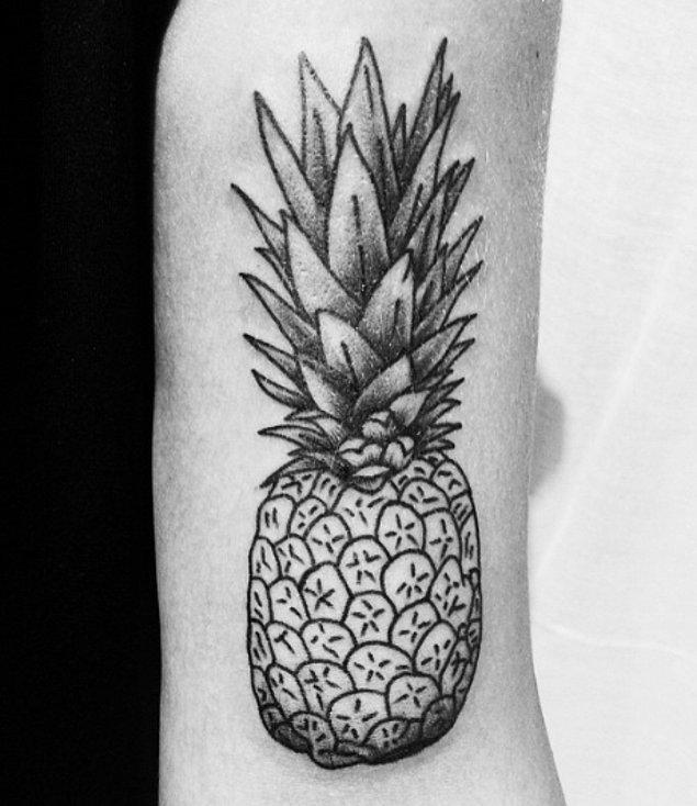 7. Ananas hayranları burada mı?