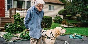 Одинокая 92-летняя старушка-ветеран не хотела выходить из дома, пока не встретила эту собаку