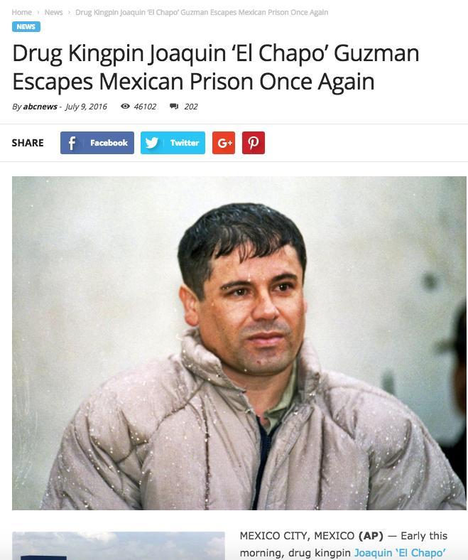 drug lord joaquin  u0026quot el chapo u0026quot  guzman extradited to the us