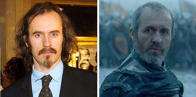 11. Stephan Dillane (Stannis Baratheon), 2000 vs 2017