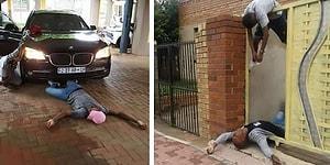 Новый сумасшедший челлендж из ЮАР: #deadposechallenge!