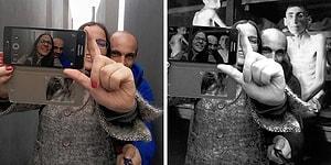 Художник пристыдил туристов, делающих селфи на фоне мемориала жертвам холокоста