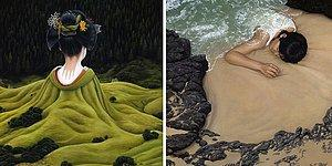 Artist Paints Surreal Paintings That Depict Humans As A Part Of Nature!