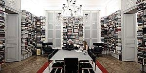 Lagerfeld's Amazing Library Will Surely Steal The Hearts Of Book Lovers!