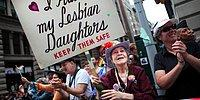 This 92-Year-Old Mom Has Been Going To Pride With The Same Sign For More Than 30 Years