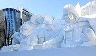 27 Unique & Artistic Snow Sculptures By Creative Japanese People
