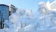 Снежный фестиваль в Японии: зимние чудеса
