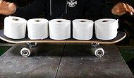 This Finnish Man Can Build A Skateboard Out Of Toilet Paper Rolls!