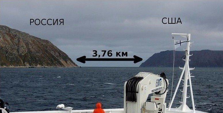 Картинки по запросу расстояние между россией и сша