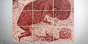 Artist Used Her 9 Months Of Menstrual Blood To Paint A Fetus!