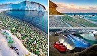 Морская стихия превратила свалку в красивейший в мире пляж