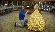 Мужчина сшил для своей возлюбленной платье из «Красавицы и Чудовища», чтобы предложить ей руку и сердце