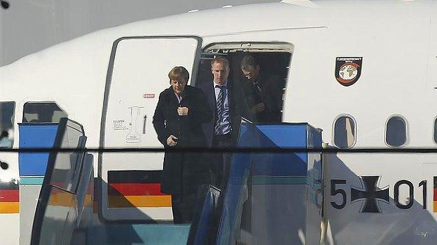 Merkel, 15 Temmuz darbe girişimi sonrasında ilk kez Türkiye'ye geldi.