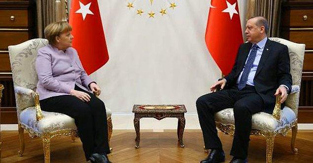 Merkel'in 'İslamist terör' ifadesine Erdoğan tepki gösterdi