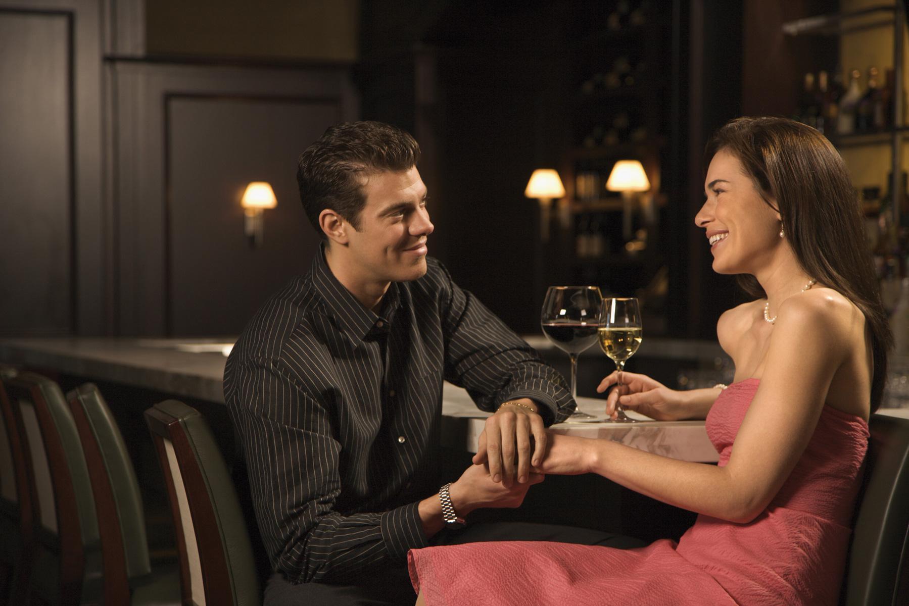 Adult bar couple