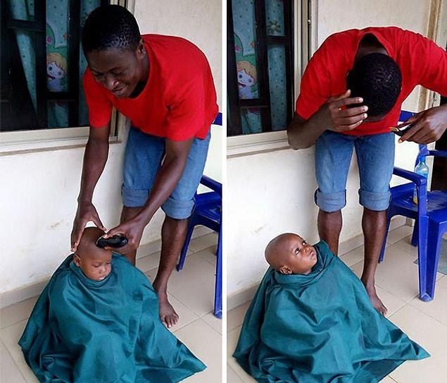 Помните этого истощенного ребенка, брошенного суеверными родителями? Он недавно пошел в школу!