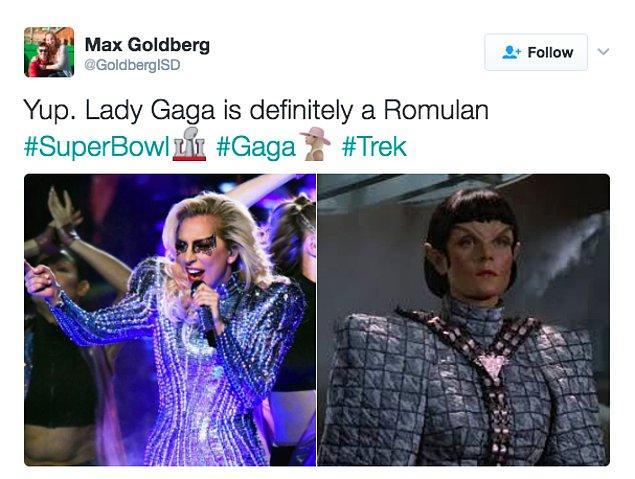 6. Romulan - Uzay Yolu 😁