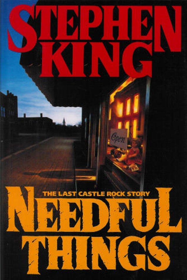 Ayrıca çok sayıda Stephen King göndermesi de var.
