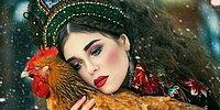 Когда сказки оживают: народный фольклор в работах русской фотохудожницы