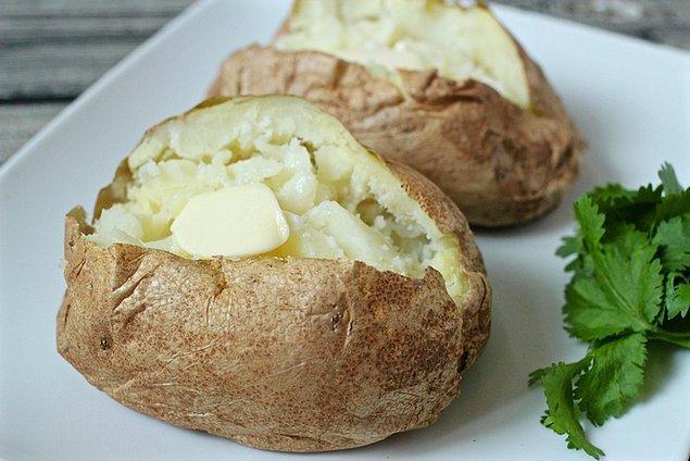 4. Patatesle yapılabilecek her türlü tarife şans verin.