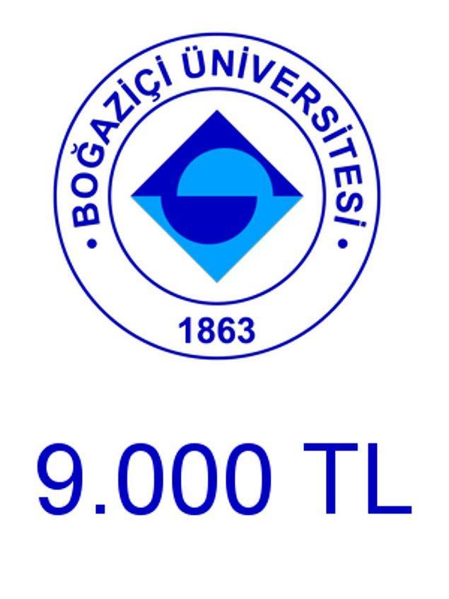 Boğaziçi - 9.000 TL!