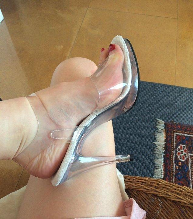 5. Striptizciler için üretilen özel ayakkabılar vardır ve bulabileceğiniz en rahat topuklu ayakkabılar bunlardır.