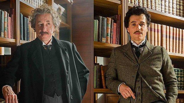 Albert Einstein'ın gençliğini Johnny Flynn ve olgunluk dönemini Geoffrey Rush şahane bir performansla canlandırmıştı.