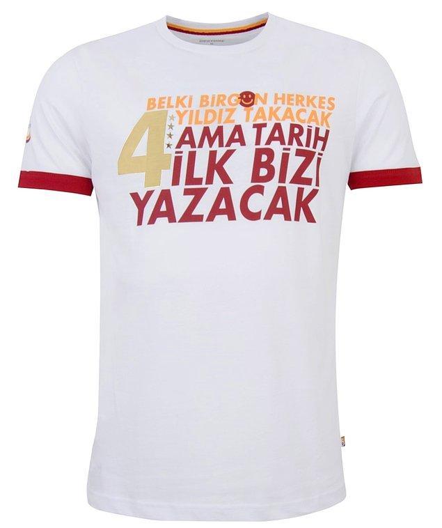 17. Galatasaray'da 4 yıldız göndermesi,