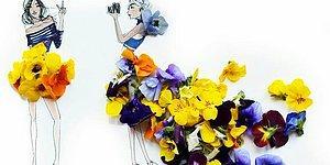 12 клевых рисунков от дизайнера-сюрреалиста, использующего цветы и овощи для своих работ