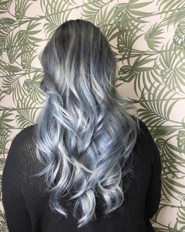 11. Kot mavisinin hemen hemen her tonunu saçınıza uygulamanız mümkün.