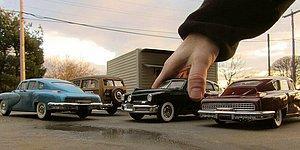 Художник, сделавший прорыв в перспективной фотографии с помощью миниатюрных моделей автомобилей
