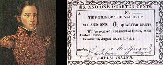 McGregor 1822 yılının Ekim ayında ilginç bir beyanat verdi.