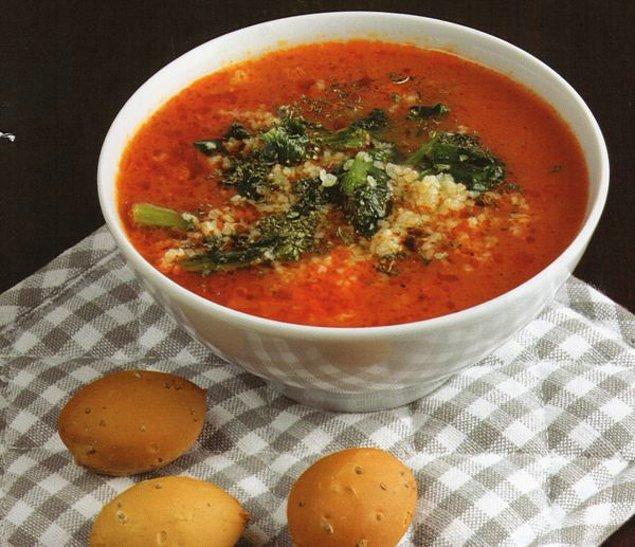 6. En sağlıklısı çorba