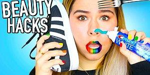 Weird Beauty Hacks You NEED To Know Before Valentine's Day - Tested!