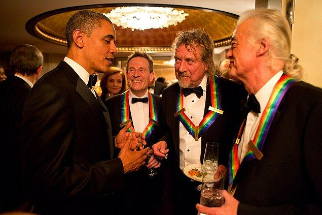 1. Led Zeppelin & Barack Obama