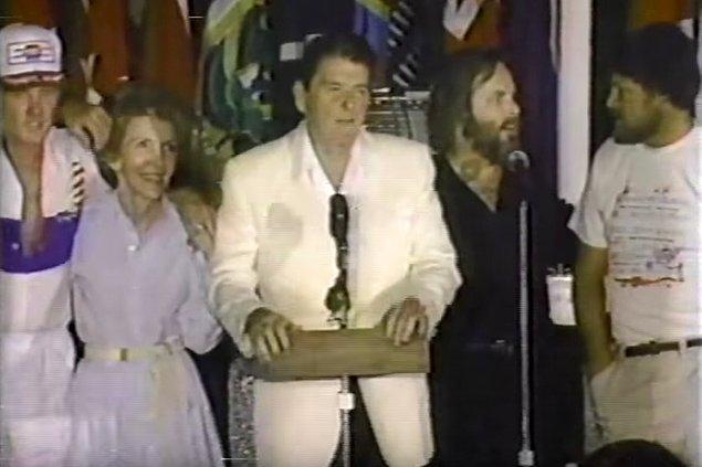 11. Beach Boys & Ronald Reagan