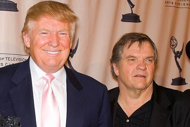 15. Meat Loaf & Donald Trump