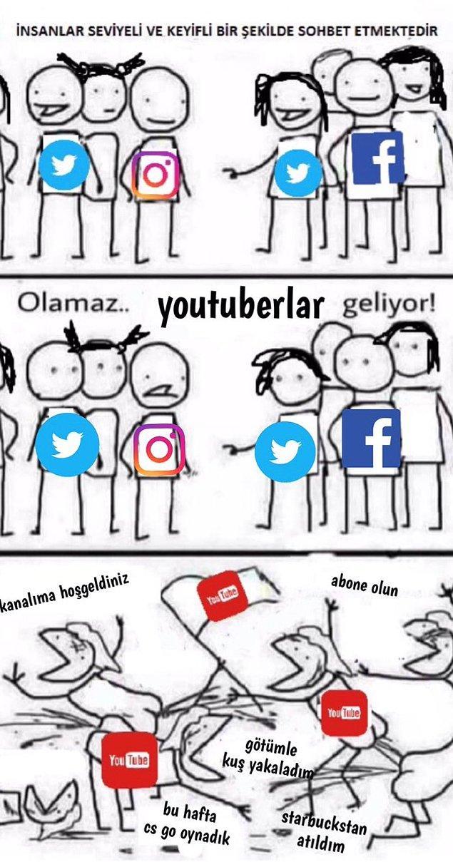 2. Youtuberlar