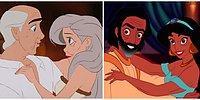 Как выглядели бы герои из мультфильмов Диснея в старости?