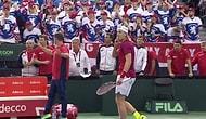Шок спортсмена, попавшего теннисным шариком прямо в глаз судье 🙈