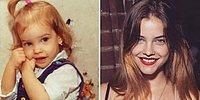 26 Famous Models Who Showed Early Signs of Beauty When They Were Children