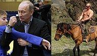 42 Photos Showing The Very Wild Side Of Putin!