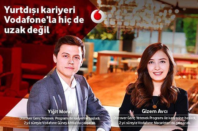Vodafone, Discover Genç Yetenek Programı'yla üniversite son sınıf öğrencilerine ve en fazla 1 sene iş deneyimi olan yeni mezunlara mükemmel bir kariyer sunuyor. Haydi hemen başvur!