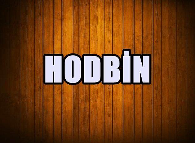 Hodbin!