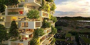 First Vertical Forest Towers in Asia to Produce Oxygen!