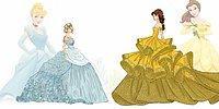 Диснеевские принцессы & высокая мода: эскизы чикагского модельера