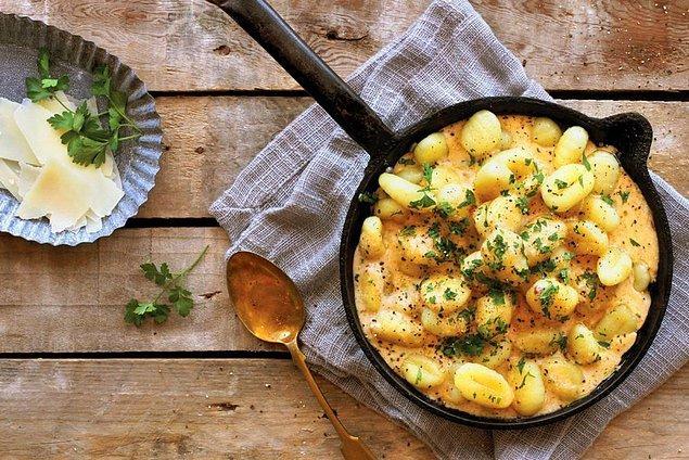 4. İtalya'da o kadar hamur işi var ki, yiyecek bulabilmek için vejetaryen olmaya bile gerek yok!
