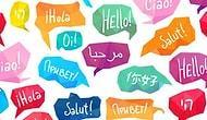 К каким языкам относятся эти слова?