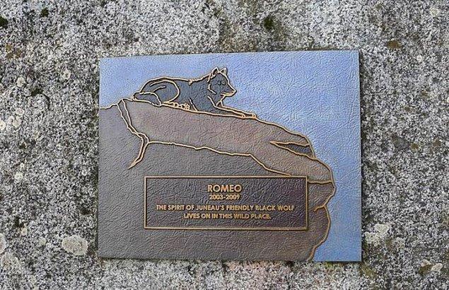 Plak, 2010 yılından beri hala Romeo'nun öldürüldüğü yerde duruyor...